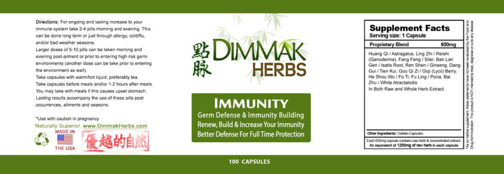 immunity-pills-label