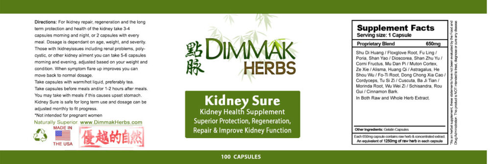 kidney-sure-label
