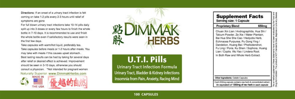 uti-pills-label